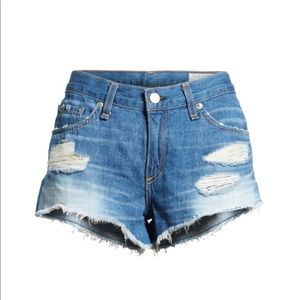 "Rag & Bone 'The Cutoff"" Modele Denim Shorts"
